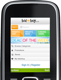 Access bidorbuy via our mobi sites on your smart- & feature-phones